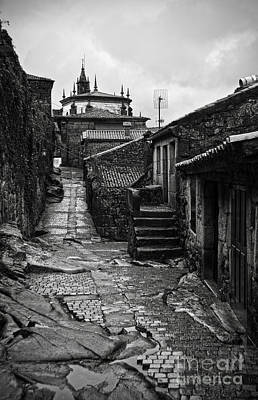 Houses Photograph - Ancient Street In Tui Bw by RicardMN Photography