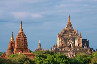 Ancient Temples And Pagodas, Bagan Art Print