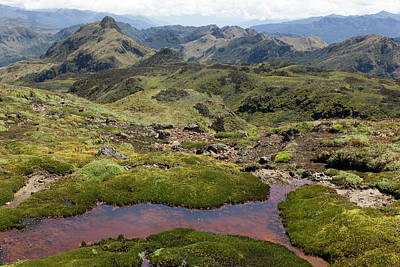 Andean Photograph - Andes Mountains by Dr Morley Read