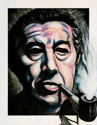 Wall Art - Painting - Andre Breton by Adam B Cook