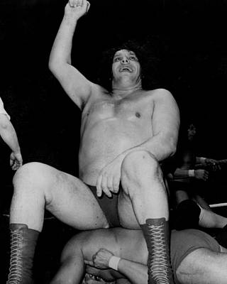 Andre Photograph - Andre The Giant by Retro Images Archive