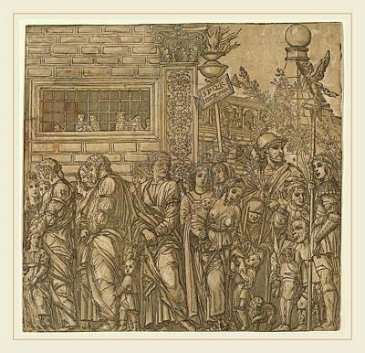 Andrea Andreani After Andrea Mantegna Italian Art Print