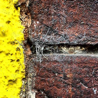Abstract Wall Art - Photograph - Urban Wall  by Jason Michael Roust