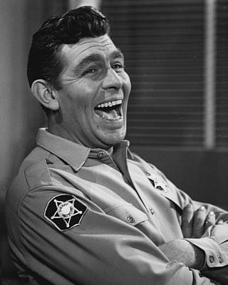 Andy Griffith Art Print by Retro Images Archive