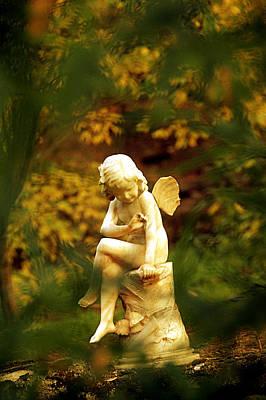 Photograph - Angel by Selke Boris