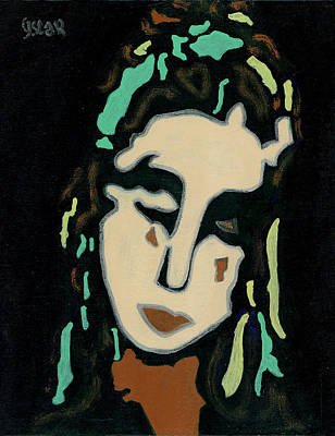 Painting - Angelina  by Oscar Penalber