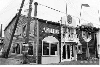 Photograph - Angelos Restaurant On Fishermans Monterey California  Circa 1950 by California Views Mr Pat Hathaway Archives