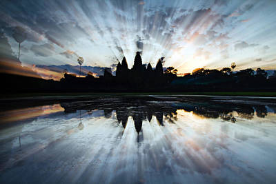 Photograph - Angkor Wat by Brad Grove