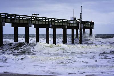 Photograph - Angry Atlantic by Judy Hall-Folde