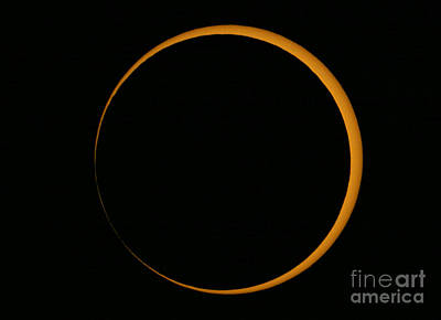 Annular Solar Eclipse, 2005 Art Print