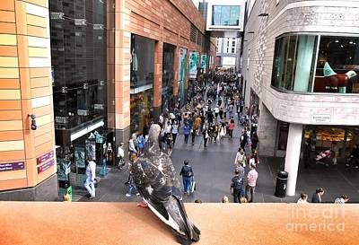 Photograph - Another Bird's Eye View Of Liverpool One by Joan-Violet Stretch