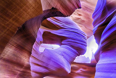 Photograph - Antelope Canyon by Jodi Jacobson