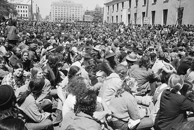 Sit-ins Photograph - Anti-war Protest, 1971 by Granger