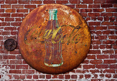 Photograph - Antique Coke Sign 1 by David Smith