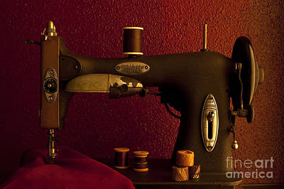 Photograph - Antique Sewing Machine by Jim Corwin