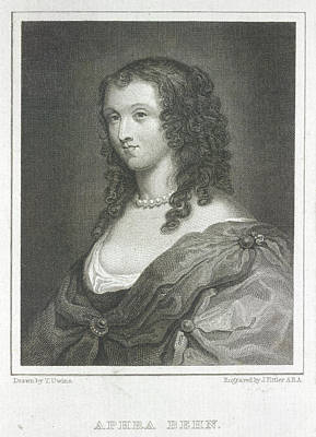 Aphra Behn Art Print by British Library