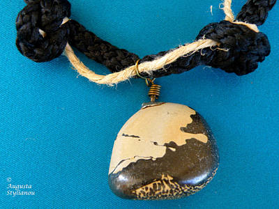 Aphrodite Melainis Necklace Original by Augusta Stylianou