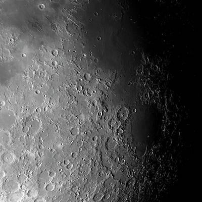 Astrogeology Photograph - Apollo 11 Landing Site by Detlev Van Ravenswaay