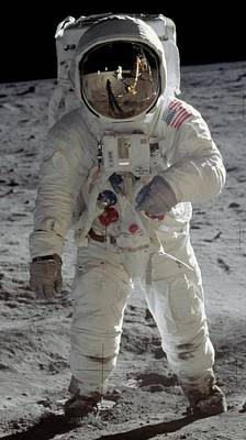 Aldrin Photograph - Apollo 11 by Celestial Images