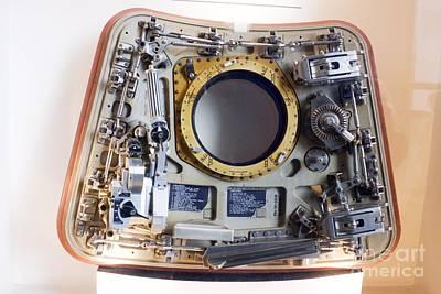 Apollo Command Module Hatch Art Print by Mark Williamson