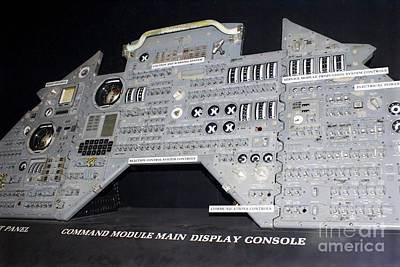 Apollo Control Panel Art Print by Mark Williamson