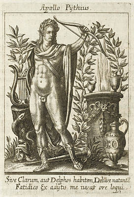 Apollo Pythias, The Greek God Art Print by Mary Evans Picture Library