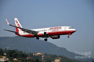Photograph - Approaching Corfu Airport by George Atsametakis