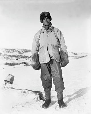 Zoologist Photograph - Apsley Cherry-garrard by Scott Polar Research Institute