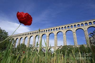 Aqueduct De Roquefavour Art Print by Sami Sarkis