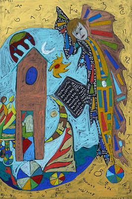 Mixed Media - Archangel Gabriel by Clarity Artists