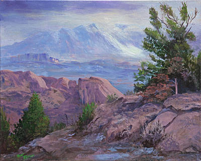 Arches View Point Art Print by Bev Finger