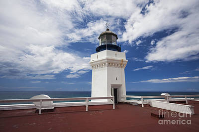 Photograph - Arecibo Lighthouse In Puerto Rico by Bryan Mullennix