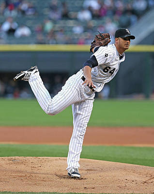 Photograph - Arizona Diamondbacks V Chicago White Sox by Jonathan Daniel