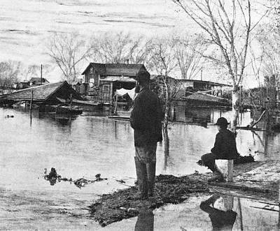 Arizona Flood, 1891 Art Print by Granger