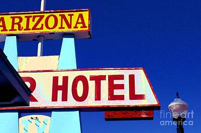 Digital Art - Arizona Hotel by Valerie Reeves