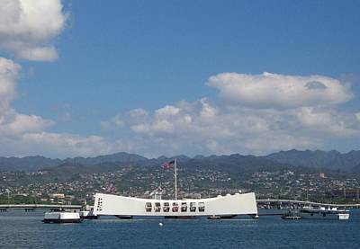 Arizona Memorial  Art Print
