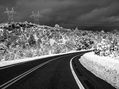 Photograph - Arizona Snow 2 by Gregory Daley  PPSA