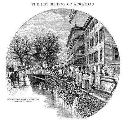 Arkansas Painting - Arkansas Hot Springs by Granger