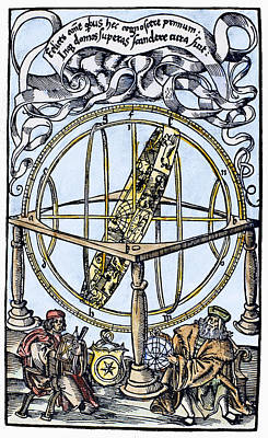 Armillary Sphere, 1514 Art Print by Granger