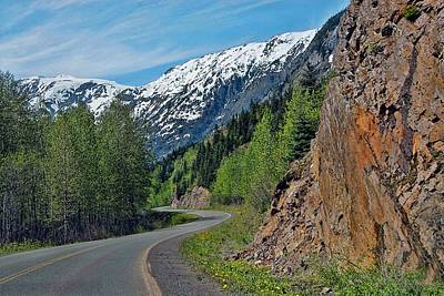 Photograph - Around The Bend -  Stewart B. C. by Dyle   Warren