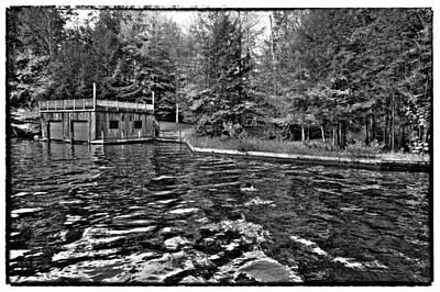 Arrowhead Park Waterway In Inlet New York Art Print by David Patterson
