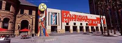 Art Museum In A City, San Jose Museum Art Print by Panoramic Images