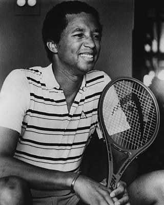 Slam Photograph - Arthur Ashe by Retro Images Archive
