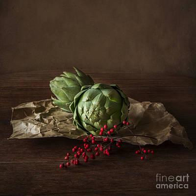 Artichoke Photograph - Artichokes by Elena Nosyreva