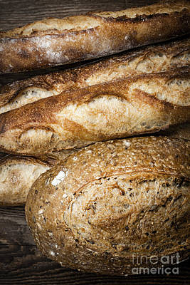 Artisan Bread Art Print