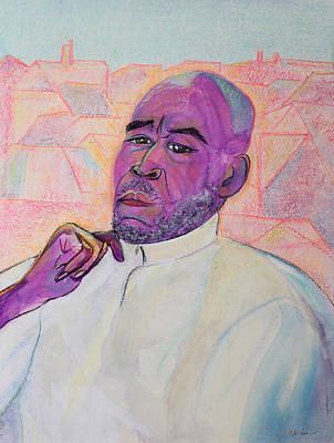 Painting - Artist Spiritualist Teacher And True Friend by Asha Carolyn Young