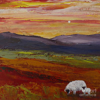 Painting - As Evening Falls Ll by Hazel Millington