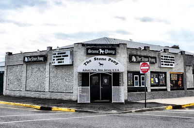 Asbury Park's Stone Pony Art Print by Bill Cannon