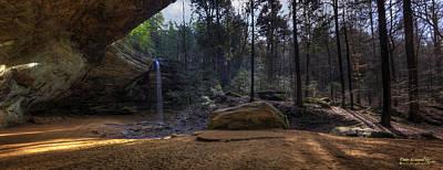 Ash Cave Panorama Art Print