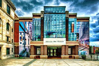 Photograph - Asheville Art Museum by John Haldane
